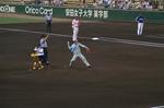 07年広島球場 始球式